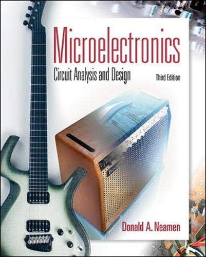 9780073285962: Microelectronics Circuit Analysis and Design