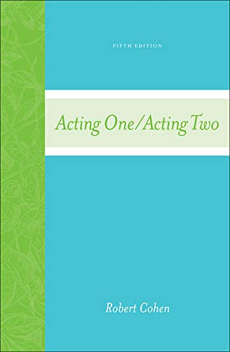 Acting One/Acting Two: Cohen, Robert