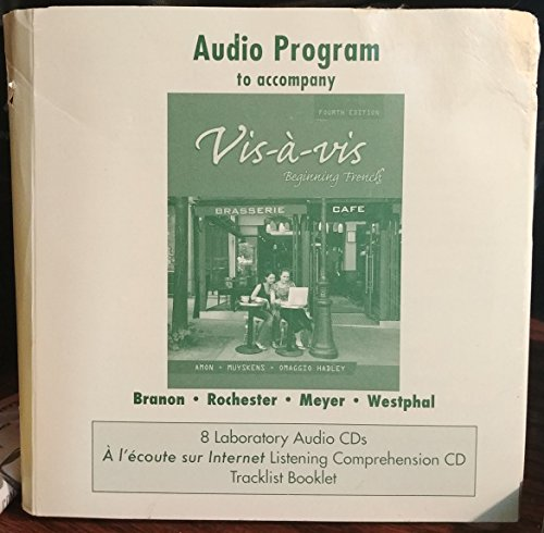 9780073289359: Audio CD program to accompany Vis-à-vis: Beginning French