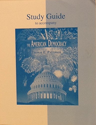 9780073291611: Study Guide to Accompany the American Democracy