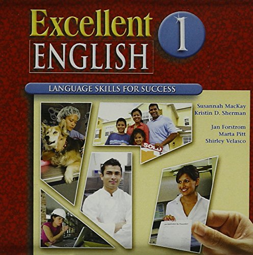 9780073291765: Excellent English Level 1 Audio CDs (5): Language Skills For Success