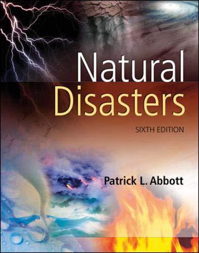 9780073292328: Natural Disasters