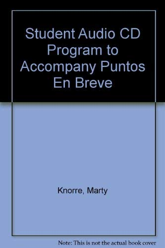 Student Audio CD Program to accompany Puntos: Marty Knorre