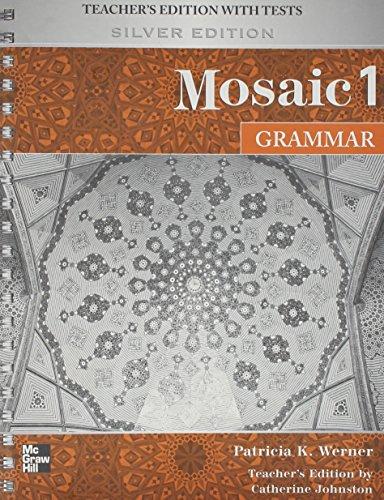 9780073294070: Mosaic Level 1 Grammar Teacher's Edition