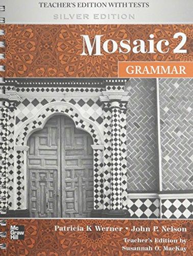 9780073294087: Mosaic Level 2 Grammar Teacher's Edition