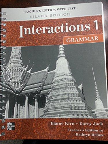 9780073294179: Interactions 1 Grammar Teachers Manual