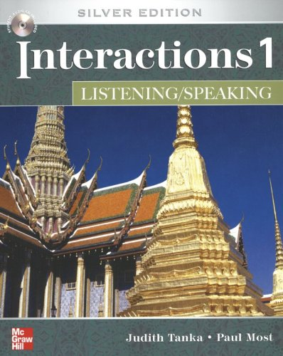 9780073294209: Interactions/Mosaic: Silver Edition - Interactions 1 (High Beginning to Low Intermediate) - Listening/Speaking Class Audio Tapes