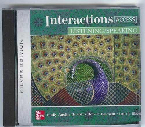 9780073294285: Interactions Access Listening/Speaking Audio CDs (2)
