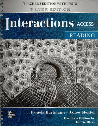 9780073294292: Interactions Access Reading Teacher's Edition with Tests, Silver Edition