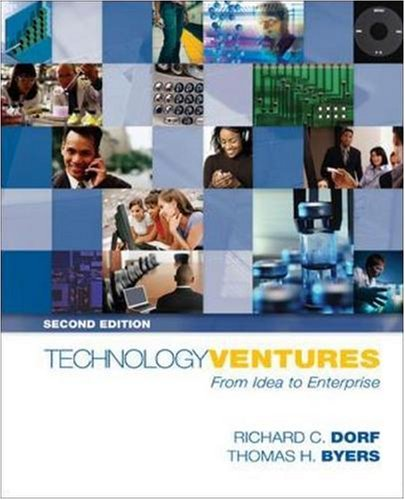 9780073294421: Technology Ventures: From Idea to Enterprise with Student DVD