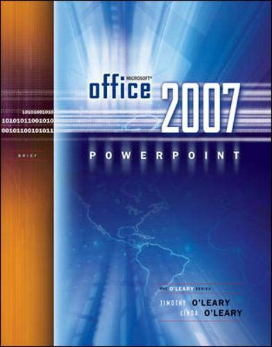9780073294568: Microsoft Office PowerPoint 2007 Brief (O'Leary Series)