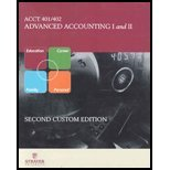 9780073294957: Acc 401/ 402 : Advanced Accounting I and II strayer university Acct 401 402