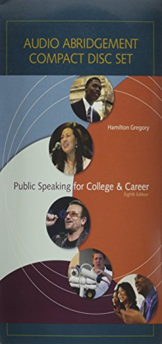 9780073295213: Audio CD Set t/a Public Speaking for College and Career