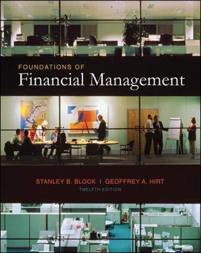 Foundations of Financial Management Text + Educational: Stanley Block,Geoffrey Hirt