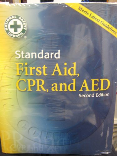 9780073296920: Standard First Aid, CPR, and AED W/ Quick Gde Pkg: Includes DVD