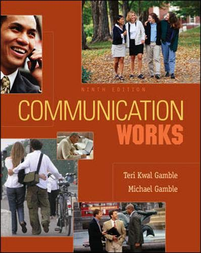 9780073297026: Communication Works