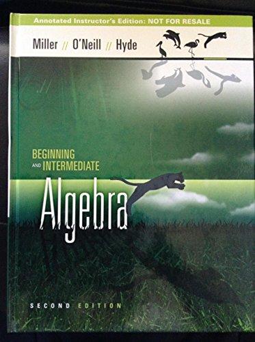 9780073297934: Beginning and Intermediate Algebra
