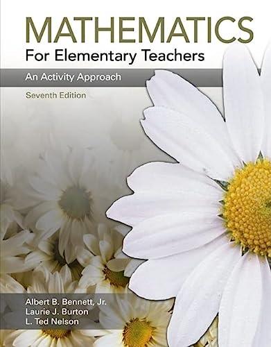 9780073298566: Mathematics for Elementary Teachers: An Activity Approach