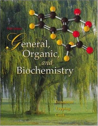 9780073301686: General, Organic, and Biochemistry