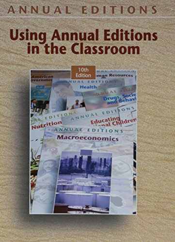 9780073301907: Using Annual Editions in the Classroom
