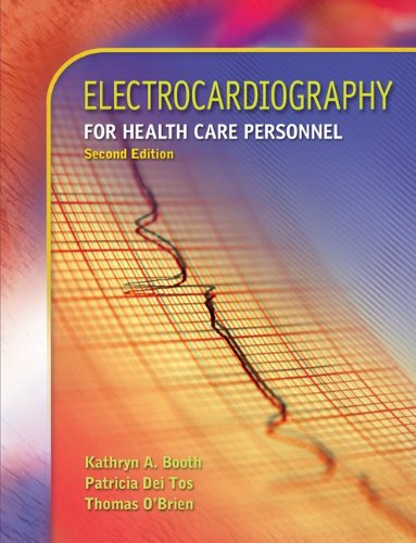 9780073302096: Electrocardiography for Health Care Personnel [With CDROM]