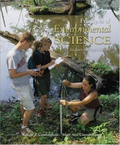 9780073304465: Principles of Environmental Science: Inquiry and Applications