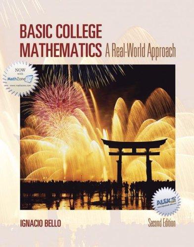 9780073304991: Basic College Mathematics: A Real-World Approach