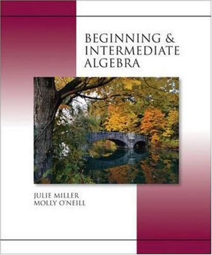 9780073305417: Beginning and Intermediate Algebra