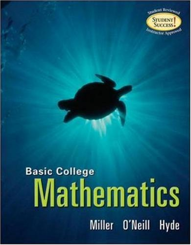 MP Basic College Math (soft cover): Julie Miller, Molly