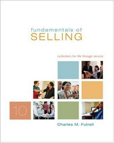 9780073305882: Fundamentals of Selling + ACT CD-ROM