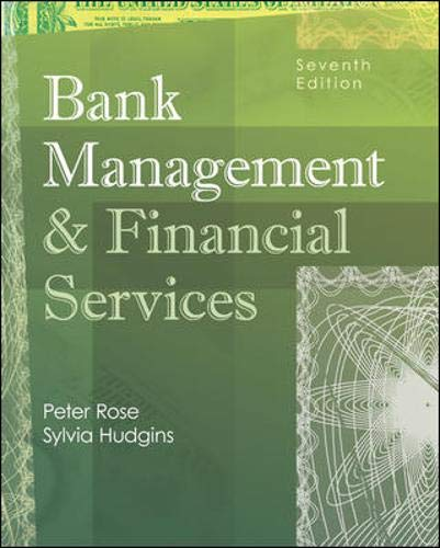 9780073306599: Bank Management and Financial Services with S&P bind-in card (McGraw-Hill/Irwin Series in Finance, Insurance and Real Estate)