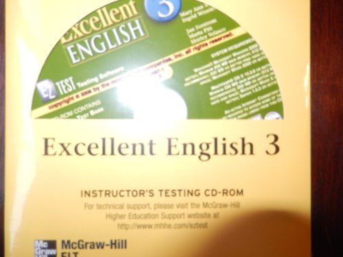 9780073306971: Excellent English Level 3 EZ Test CD-ROM: Language Skills For Success