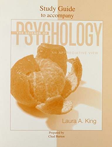 9780073307466: Student Study Guide to accompany The Science of Psychology