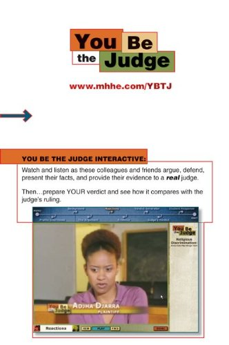 9780073309095: You Be the Judge Online Access Card