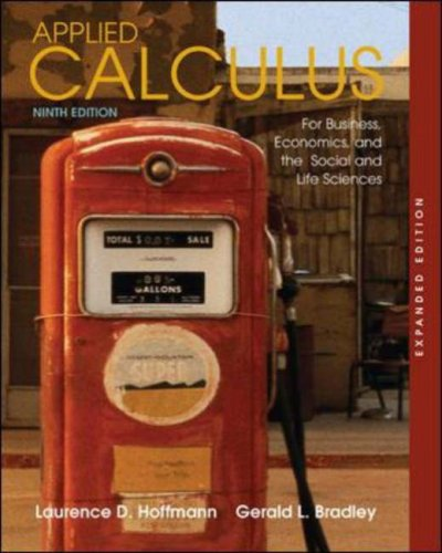 9780073309262: Applied Calculus for Business, Economics, and the Social and Life Sciences, Expanded Edition