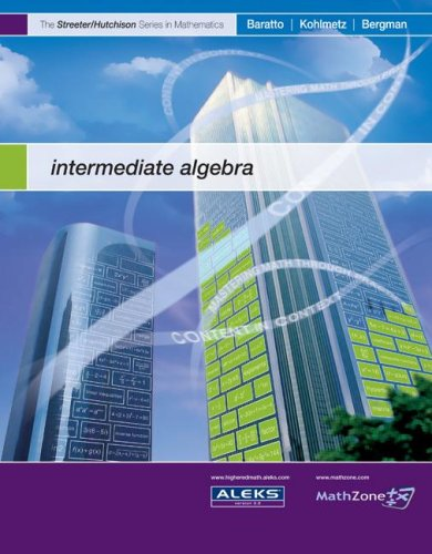 9780073309309: Intermediate Algebra (The Streeter Series)