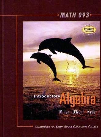 9780073309460: Introductory Algebra