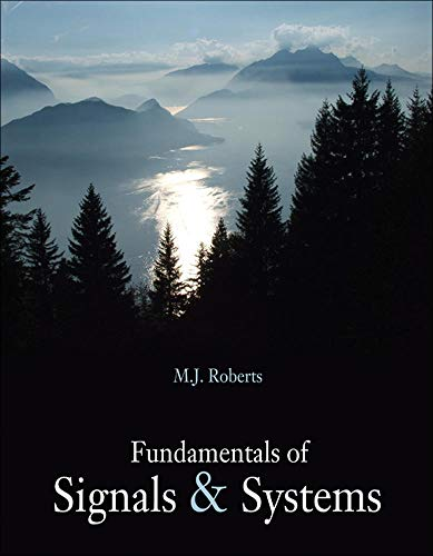 9780073309507: Fundamentals of Signals and Systems