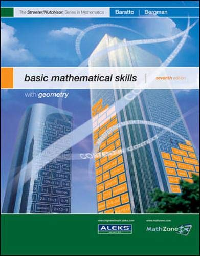 9780073309590: MP Basic Mathematical Skills with Geometry (The Streeter Series)