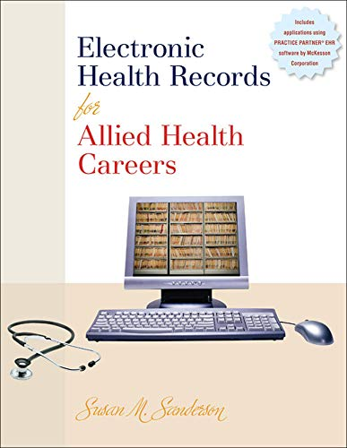 Electronic Health Records for Allied Health Careers: Sanderson Author, Susan