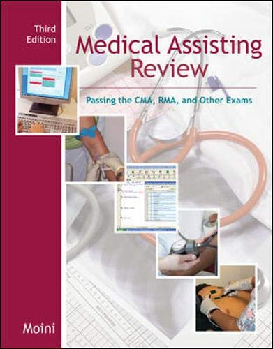 9780073309798: Medical Assisting Review: Passing the CMA, RMA, & Other Exams w/Student CD-ROM