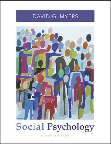 9780073310268: Social Psychology with SocialSense Student CD-ROM