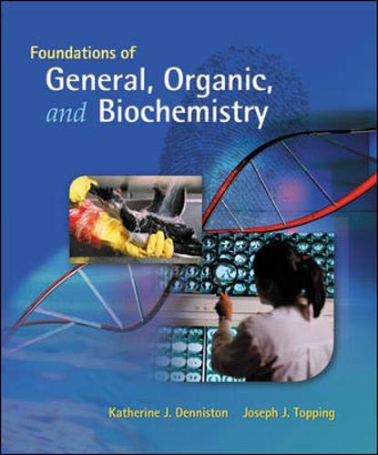 9780073311838: Foundations of General, Organic, and Biochemistry