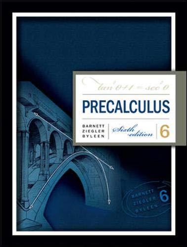Precalculus: Raymond A. Barnett;