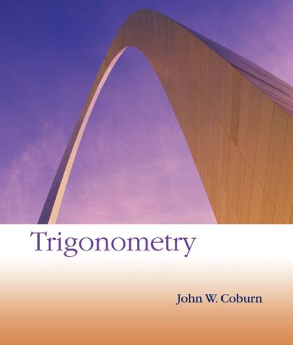Trigonometry: John W. Coburn
