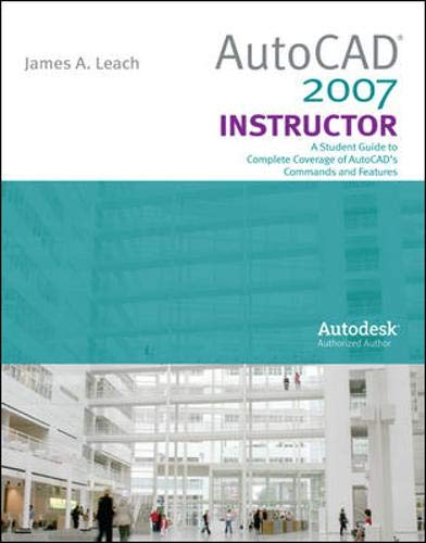 9780073312743: AutoCad 2007 Instructor with Autodesk Inventor Software 07