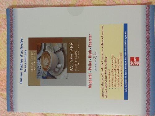9780073312811: Online Access Code Cahier D'activités to Accompany Pause-café