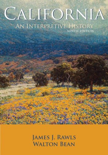 9780073313269: California: An Interpretive History with Map Poster
