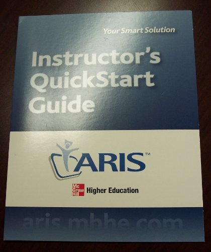 9780073313764: Aris Instructor Quickstart Guide to Acco