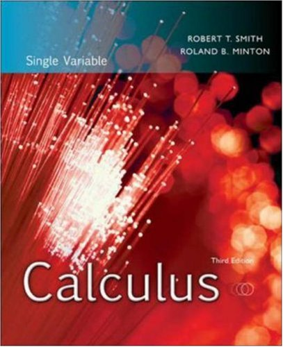 9780073314198: Calculus: Single Variable